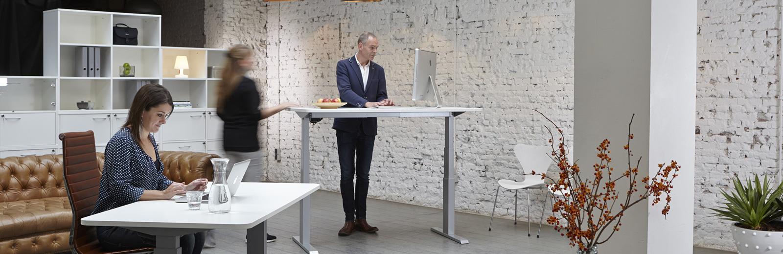 ergonomisch meubilair statafel bureaustoel